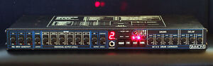 Vintage 1980's Simmons MTX9 Drum expander Module and 3 Triggers