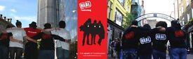 Touring Fundraiser - £252-306 Basic + Uncapped Bonuses - Immediate Start