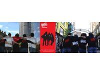 Roaming Door to Door Fundraiser - OTE £25,000 - Immediate start - Full training provided