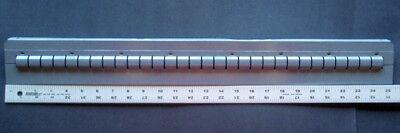 Lot 12 Equipto 8727 27-34 Cabinet Depth Drawer Partition Tool Bin Divider