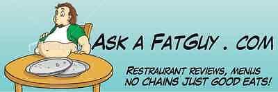 Domain Name  Ask A Fat Guy  Askafatguy Com  Com Restaurant Blogger Travel Food