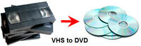 Transfer your VHS tapes into AVI files