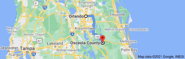 Hugh 1.25 AC Real Estate Land Property In Kissimmee, Florida / Pre-Foreclosure - $200.00