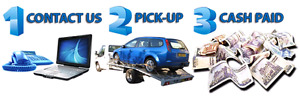 Scrap your car same day pick up paid cash towing