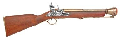 Denix 18th Century Pirate Boarding Blunderbuss Replica Gun - Brass