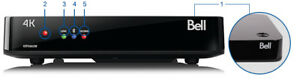 Bell Fibe TV 4K VIP5662W Wireless PVR 1TB Receiver.