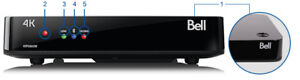 Bell Fibe TV 4K VIP5662W Wireless PVR 1TB Receiver