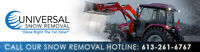 Snow Plowing Services-Commercial Properties 20% Off New Client