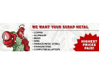 Scrap Metal Collection and Garage clearance