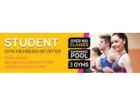 Student Gym Memberships - Refer friends for up to eight months free membership!