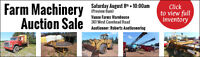 Farm Equipment Auction!