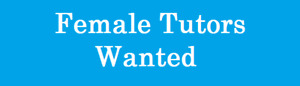 Urgently require  female tutors for our client in Toronto.