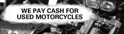 Wanted: Cash Paid for Motorcycles - SE Qld