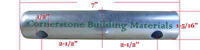 28 New Scaffolding Flip Lock Frame Coupling Pin 1-516od With Out Washer Cbm