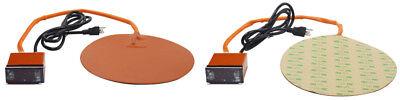 10 Vacuum Chamber Digital Heat Padround Temperature Control Heating Pad Hot