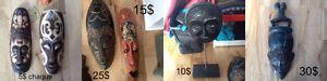 Masques décorateurs / decorative masks
