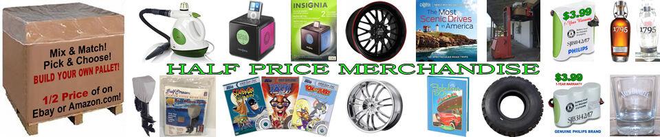 Half Price Merchandise