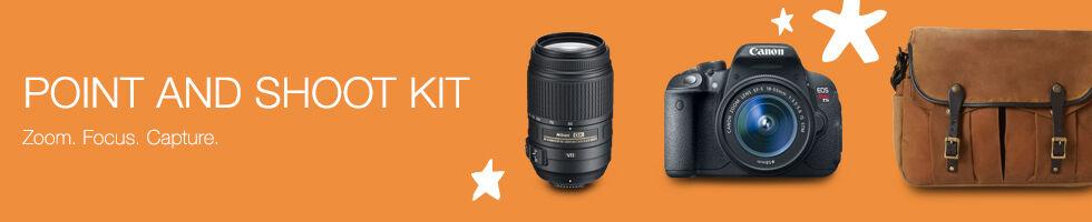 Point & Shoot Kit | Zoom, Focus. Capture