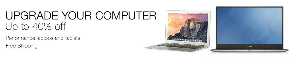 Upgrade your computer up to 40% off | Performance laptops & tablets