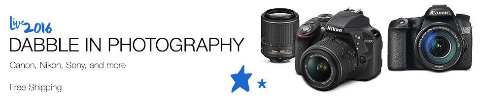 Canon, Nikon, Sony, and more