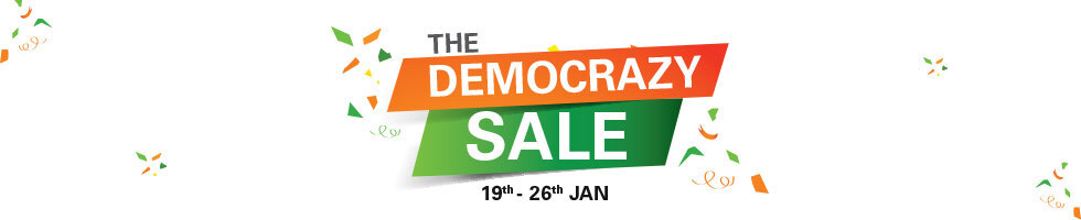 The Democrazy Sale (19th – 26th Jan) @ eBay – Others