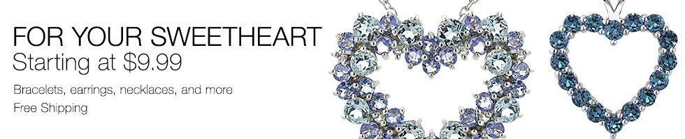 Your Sweetheart-Starting at $9.99 | Bracelets, earrings, and more