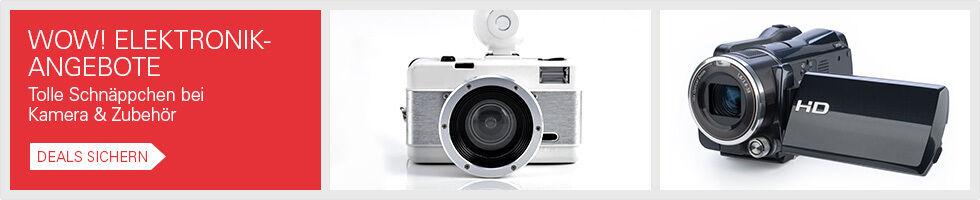 WOW! Elektronik-Angebote - Tolle Schnäppchen bei Kamera & Zubehör - Deals sichern