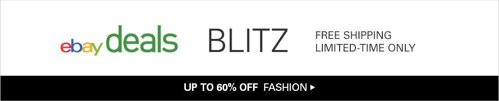 BLITZ | UP TO 60% OFF FASHION