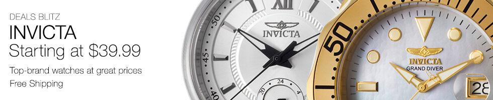 Invicta Starting at $39.99
