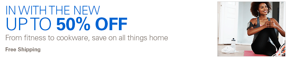 Save  up to 50% off  all thing home from fitness to cookware + free shipping at Ebay.com.au