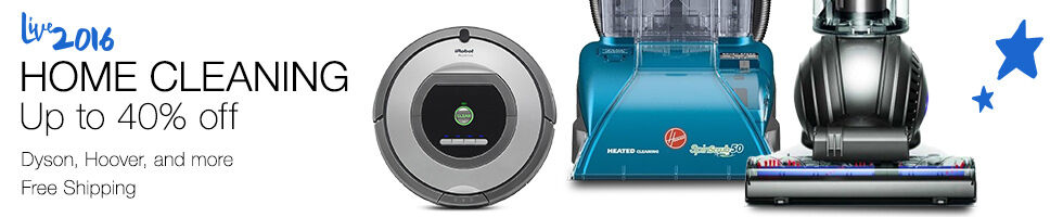 Home cleaning up to 40% off | Dyson, Hoover, and more