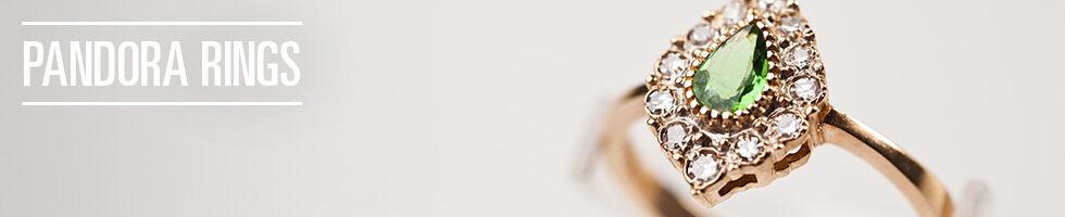 Pandora Rings Birthstone Rings & Stacking Rings