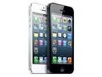 iPhone 5 16gb black unlocked - screen damaged