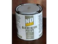 1 Litre Tin of Aluminium Paint (New unopened)