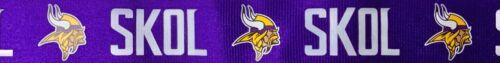 NFL Minnesota Vikings SKOL Purple Lanyard with Detachable Safety Clip (2 Pack)