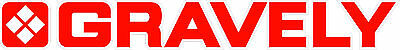 GRAVELY TRACTOR VINYL DECAL STICKER - RED ...