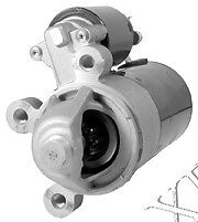 New FORD Starter for FORD AEROSTAR,PROBE,RANGER,TAURUS,TEMPO 199