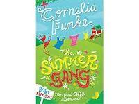 """***NEW***Cornelia Funke """"The Summer Gang"""" Book"""