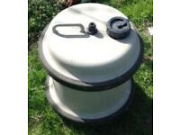 Aquaroll 29 litre with larger inlet. Handy as a spare !