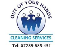 Out Of Your Hands Cleaning Services we are here to help whenever you need us