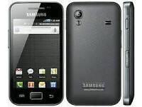 Samsung Galaxy Ace black (Unlocked) in good condition