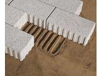 Brand new paving blocks