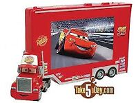 [RED] DISNEY CARS TV AND DVD COMBI.