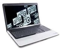 laptop core2duo 2gb 160gb integrated cam win7 125$
