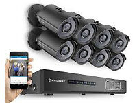 ptz cctv security kit system camera