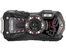 Ricoh WG-30 Digital Camera - Black Case Budle