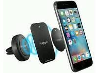 Magnetic phone holder and charger new