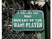 Bad A$$ Bass Player needs a band