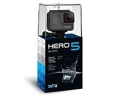 gopro hero 5 black brand new sealed unopened with receipt 4k video camera action