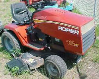 rally roper ride on lawn tractor for sale in good condation